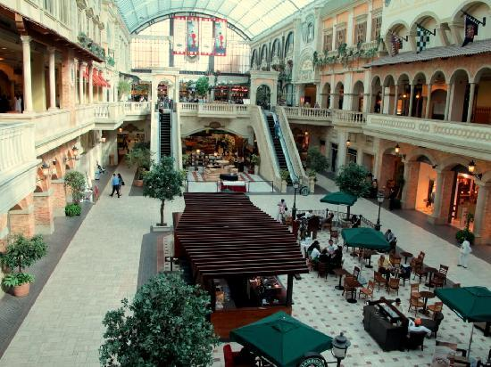 Mercato Shopping Mall: veduta interna di Mercato mall