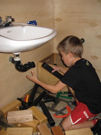 Canadian Children's Museum : Futur plombier?