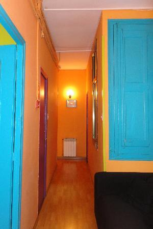 Paraiso Travellers Hostel: appena entrati nell'ostello