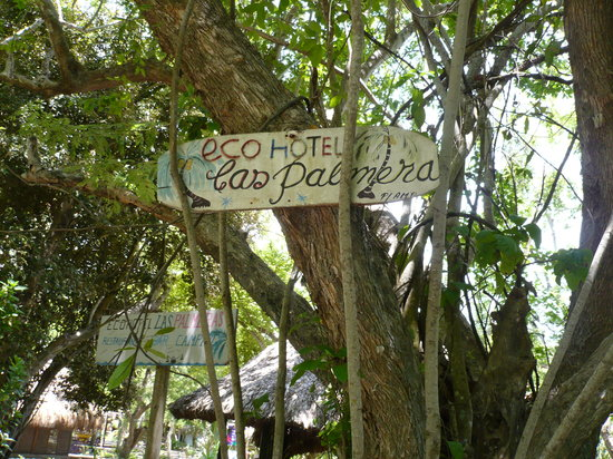 Isla Grande, Colombie : Entrance to the hotel area
