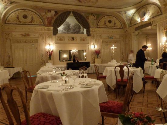 Grand Hotel Kronenhof: das Grand Restaurant
