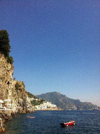 Santa Caterina Hotel : Oceanside