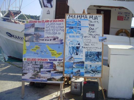 Skiathos, Greece: mama mia of course
