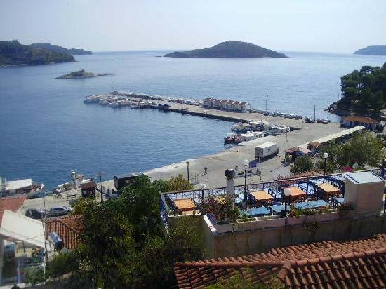 Skiathos, Griechenland: new port