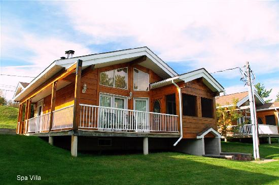 Couples Resort: Spa Villa Cabin