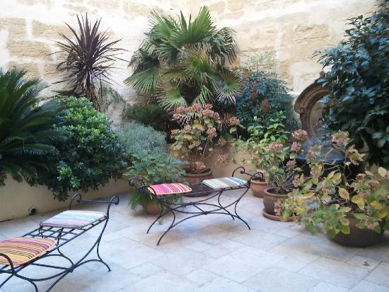 Autour du Petit Paradis : patio