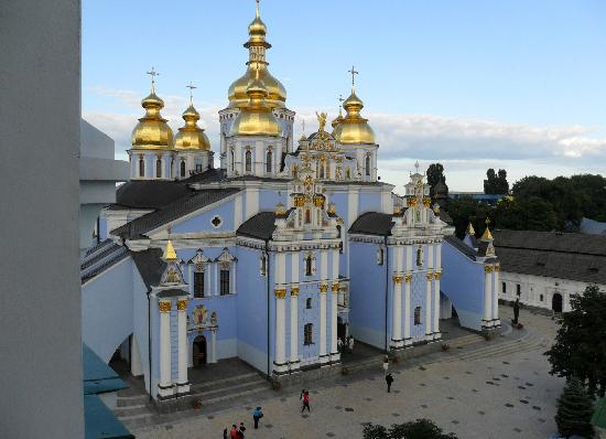 Оселя Киев: view from church tower