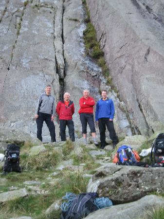 Summer Hill Guest House : The Team at Idwal Slabs