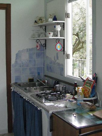 Casa Mazzola B&B: our kitchenette