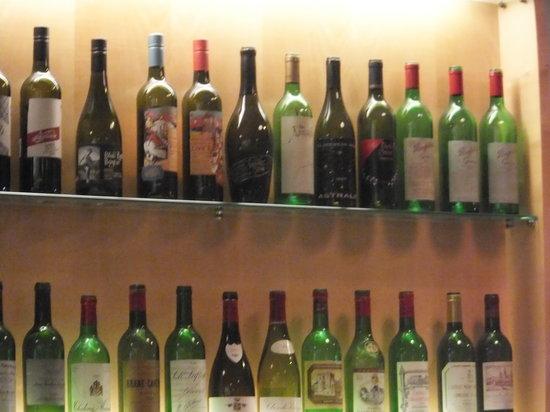 Caduff's Wine Loft: Wines first