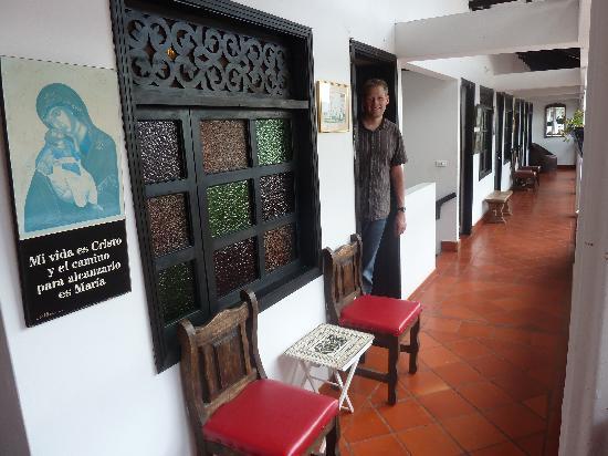 Hospederia Don Paulino: First floor