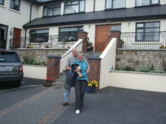 Abbeylodge B&B: on our way out