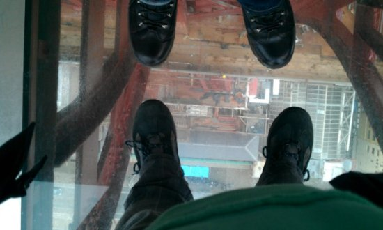 The Blackpool Tower: Glass Floor