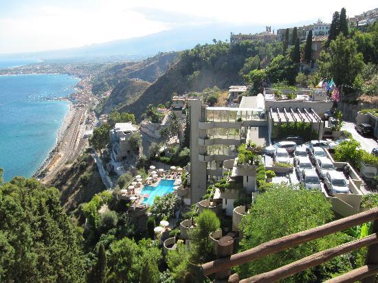Eurostars Monte Tauro: Hotel from Taormina City Garden