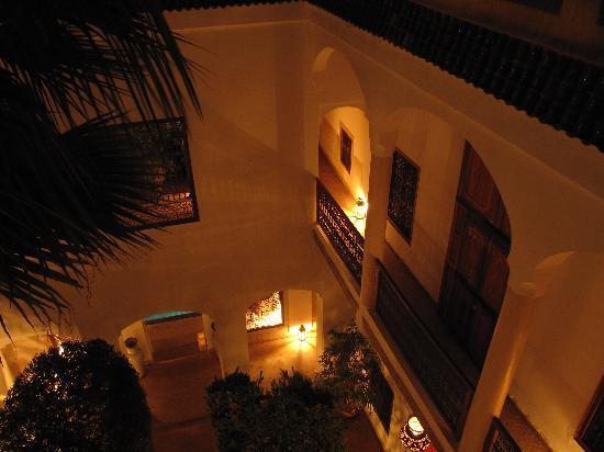 Riad l'Orangeraie: Riad de nuit