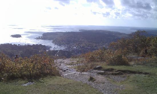 Mount Battie: View of Camden.