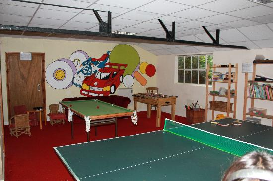 The Beeches Farmhouse B&B & Pig Wig Cottages: The games room