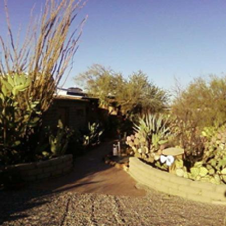 Casa Tierra: Entrance