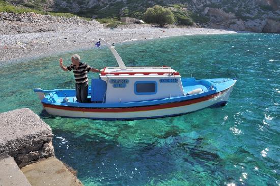 Diafani, Grecia: boat
