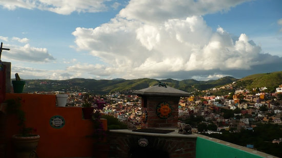 Hostal Casa de Dante: Terraza