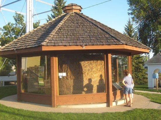 Darwin, MN: The new enclosure for the twine ball