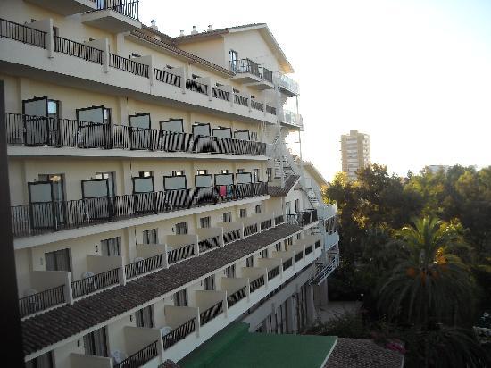 Hotel Intur Orange: vista desde habitación