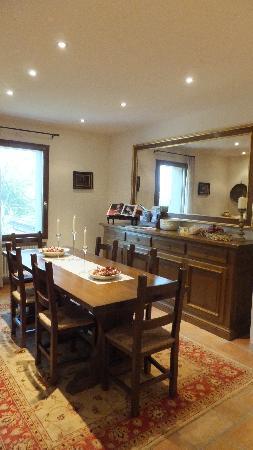 La Gaiana: Dining room