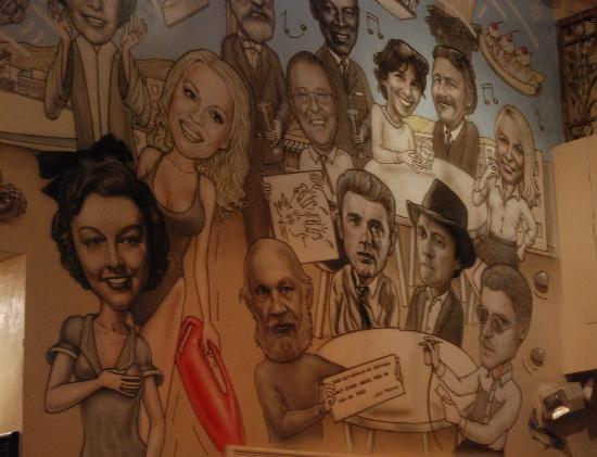 Danny's Venice Deli: The Wall of Who's Who