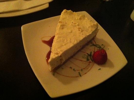 Indaba: taste sensation...cheesecake!
