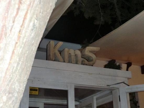 KM5 : The Restaurant´s name
