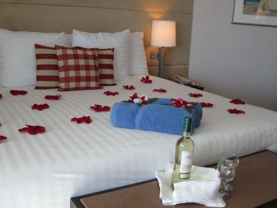 Avila Beach Hotel: Romantic arrival