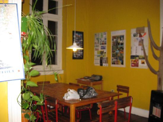 Hostal Casa Aventura : Gemeinschaftsraum