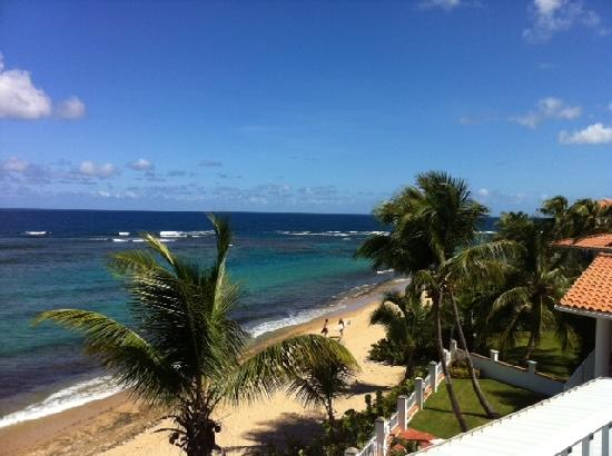 Villa Tropical Oceanfront Apartments on Shacks Beach: View from the Balcony - M4