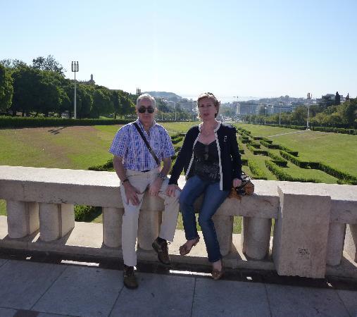 Hotel dos Cavaleiros: Mi mujer y yo