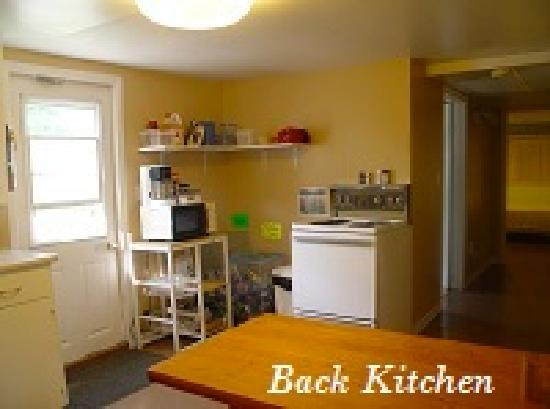 Cabot Trail Hostel: our kitchens are well equiped