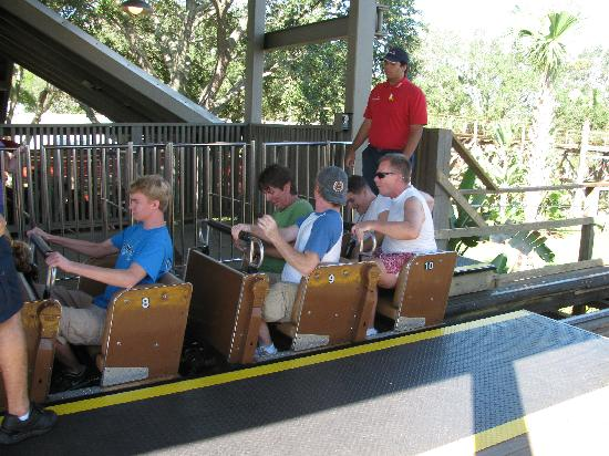 Legoland Florida Resort: Rides are not made for adults