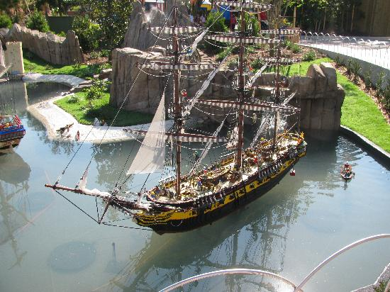 Legoland Florida Resort: Lego Pirate Ship was cool