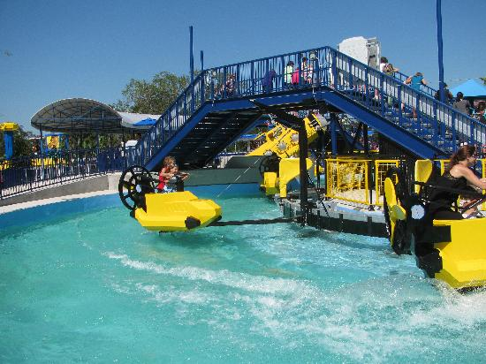 LEGOLAND Florida Resort: The boat ride is fun - for kids