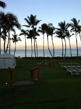 Grand Wailea - A Waldorf Astoria Resort: Early morning peace and quiet