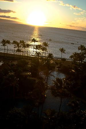The Westin Maui Resort & Spa: sunset from balcony