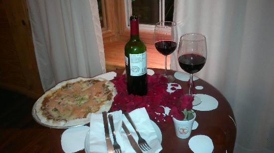 Hotel Boutique Xacallan: pizza y vino