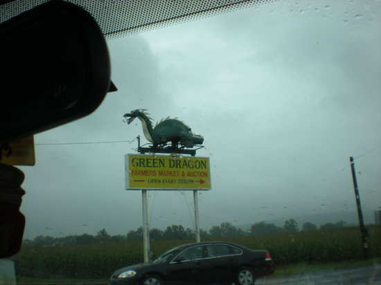 Ephrata, Pennsylvanie : Green Dragon Sign