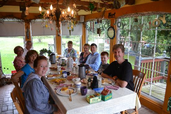 Frogtown Acres Bed and Breakfast : Breakfast was amazing