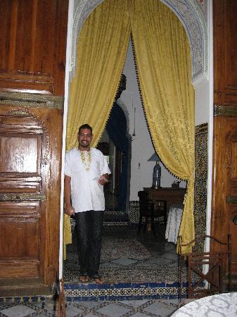 Riad Laayoun: Jean-Claude has a wonderful and friendly Riad...
