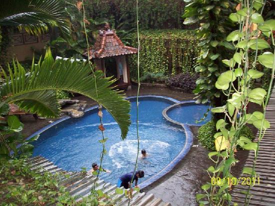 โรงแรมสุกาจาดิ: the swimming pool