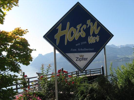 Gmunden, Austria: Gasthof Hois'n