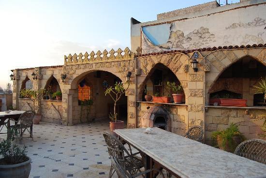 Osiris Hotel: Vue Terrasse 1