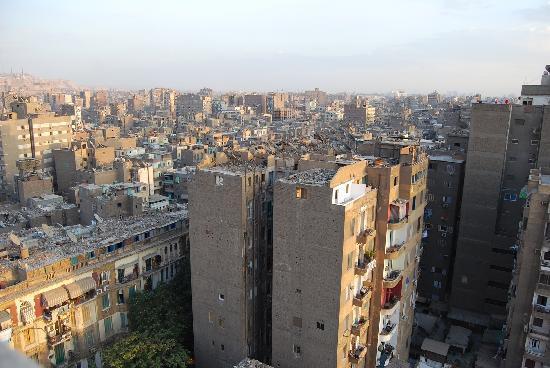 Osiris Hotel: Vue Terrasse 2