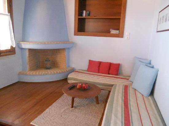 Petroto Villas: il salottino dell'appartamento