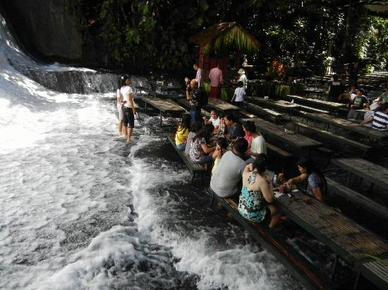 Waterfalls Lunch Picture Of Villa Escudero Tiaong